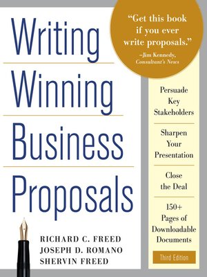 Writing Winning Business Proposals by Richard C Freed · OverDrive - business proposals