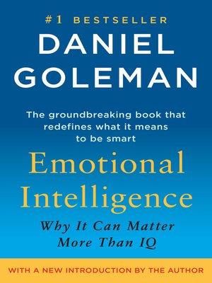 Emotional Intelligence by Daniel Goleman · OverDrive (Rakuten - emotional intelligence pdf
