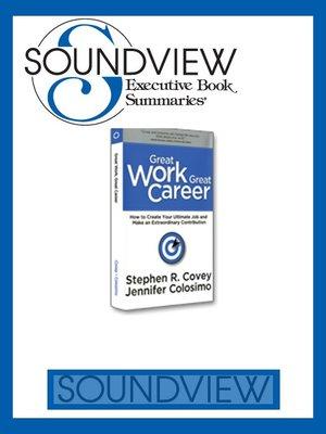 Soundview Executive Book Summaries · OverDrive (Rakuten OverDrive - executive summaries books