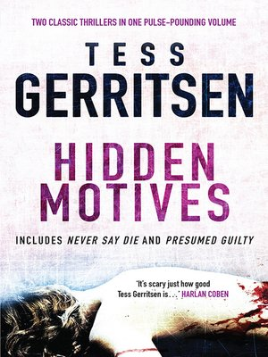 Tess Gerritsen · OverDrive (Rakuten OverDrive) eBooks, audiobooks - presumed guilty book