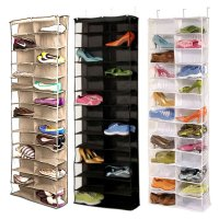 Shoe Rack Storage Organizer Holder Folding Hanging Door ...