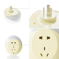 LED Light Sensor Plug Socket Night light Lamp Wall