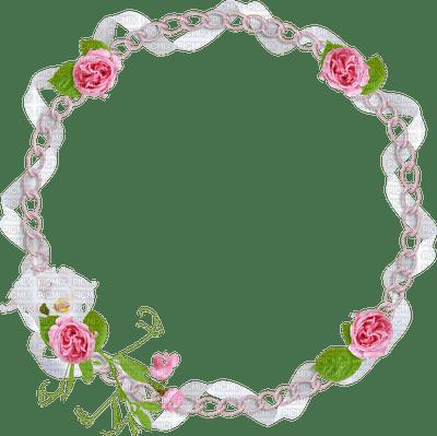 Cat In Fall Wallpaper White Pink Circle Frame Pink Circle Frame Ekaterina100 Roses