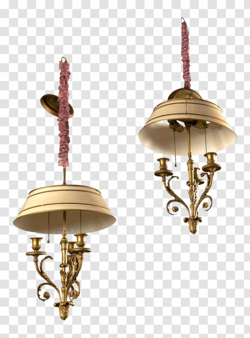 01504 Ceiling Brass Copper Wall Lamp Transparent Png