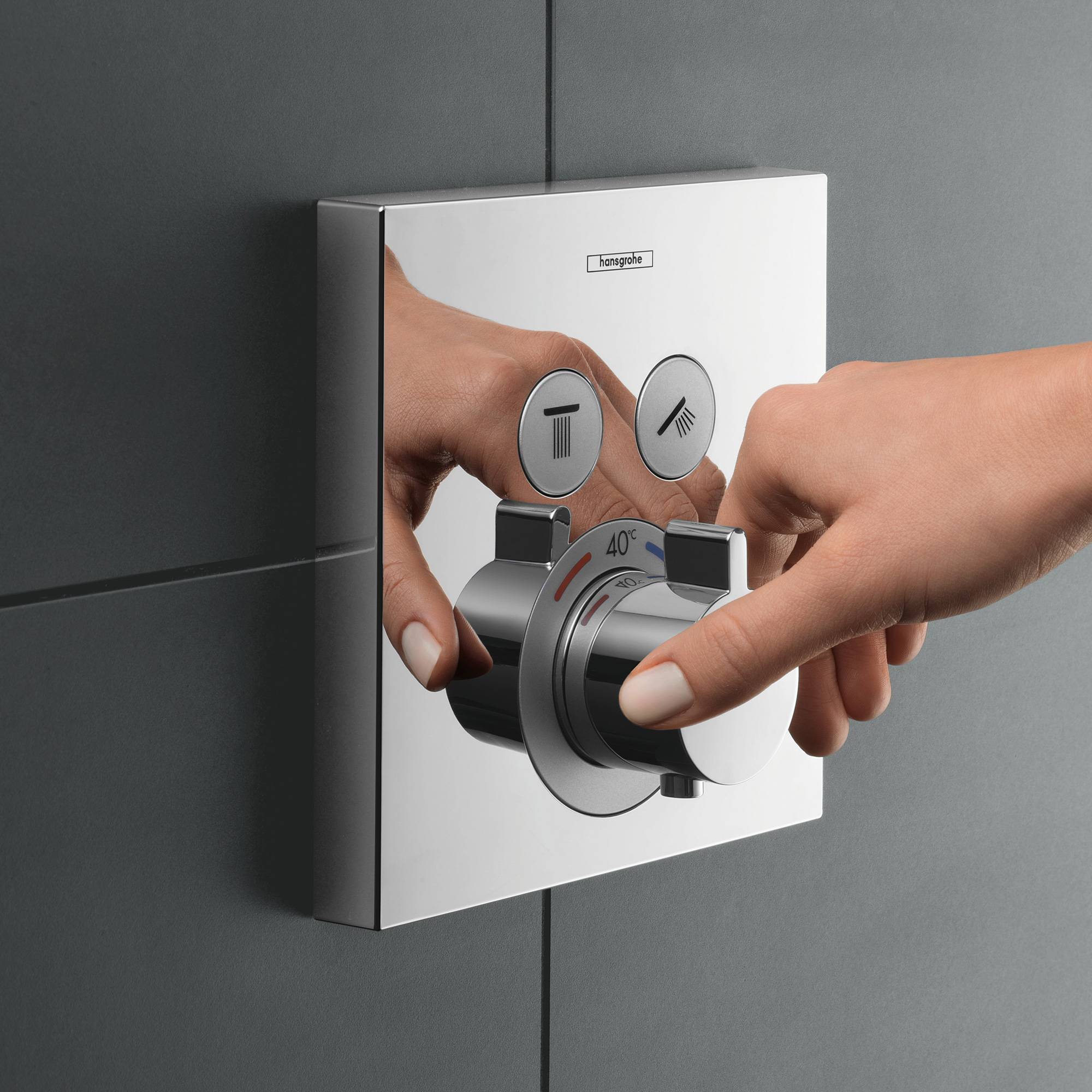 Duscharmaturen Test Hansgrohe Showerselect Thermostat Unterputz Für 2