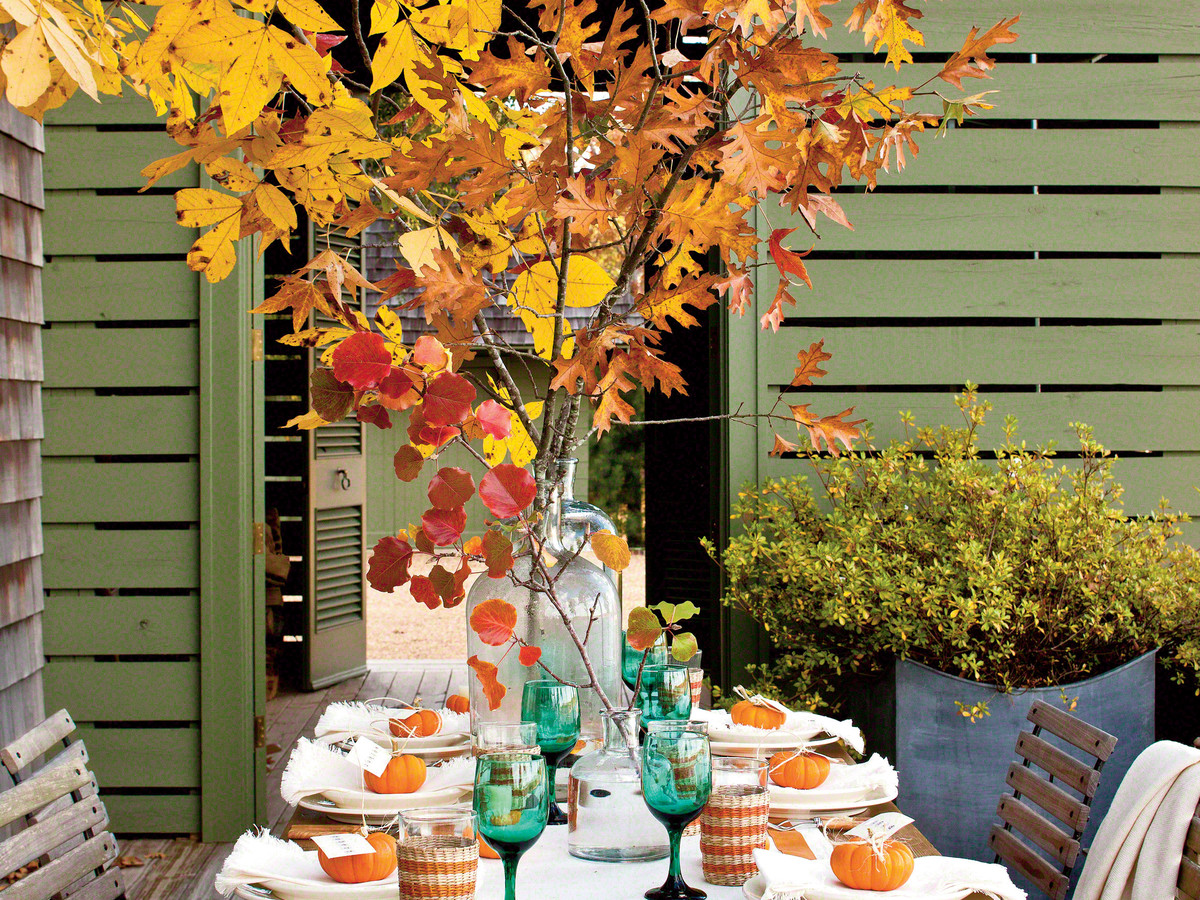 Fall Table Decor Southern Living