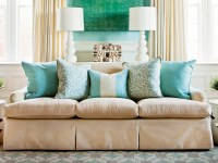 How To Arrange Sofa Pillows - Southern Living
