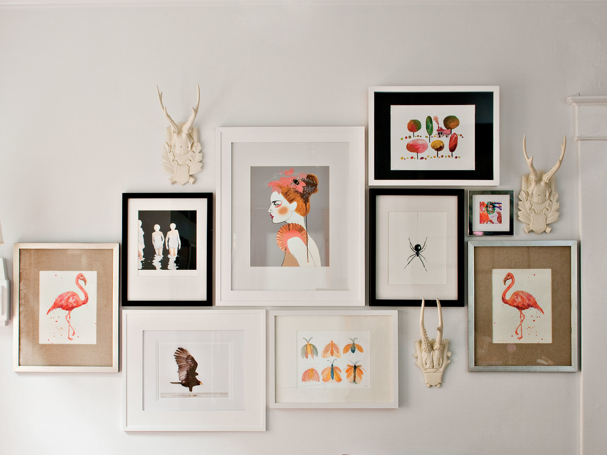 How To Frame Pictures How To Frame Art Southern Living