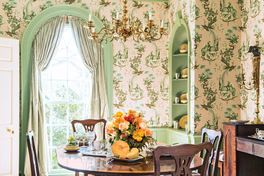 Traditional & Elegant - Beautiful Wallpaper Ideas - Southern Living