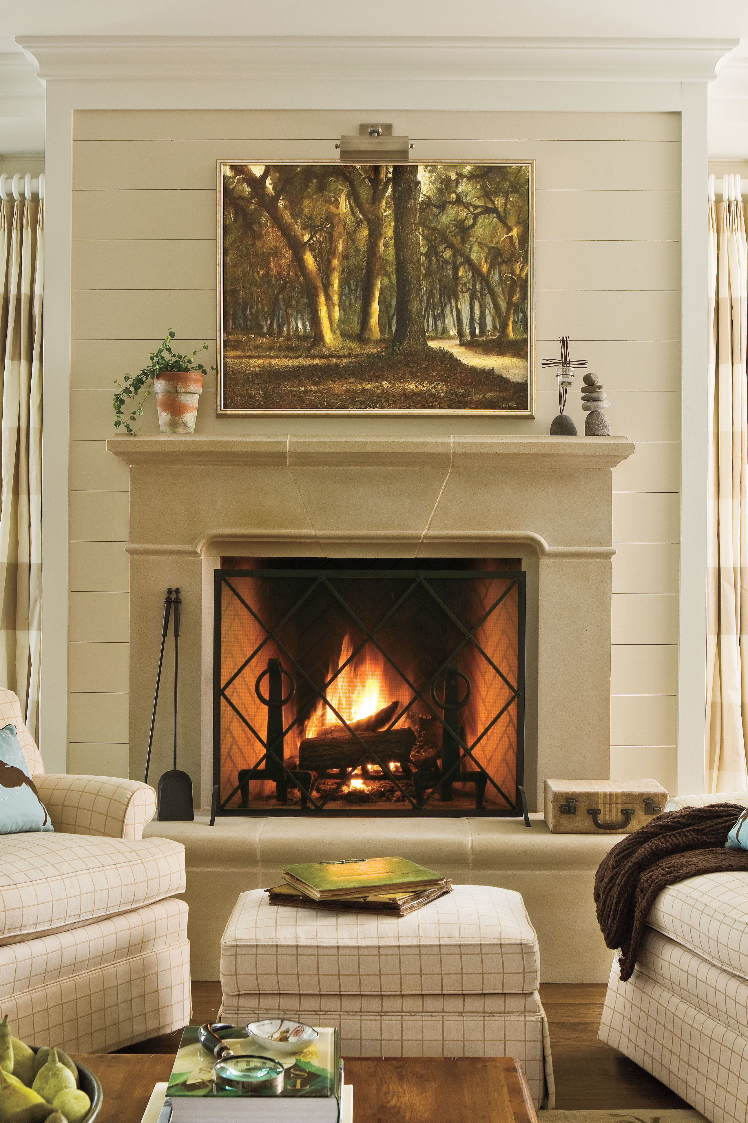 Design For Fireplace Dress Your Mantel For Winter