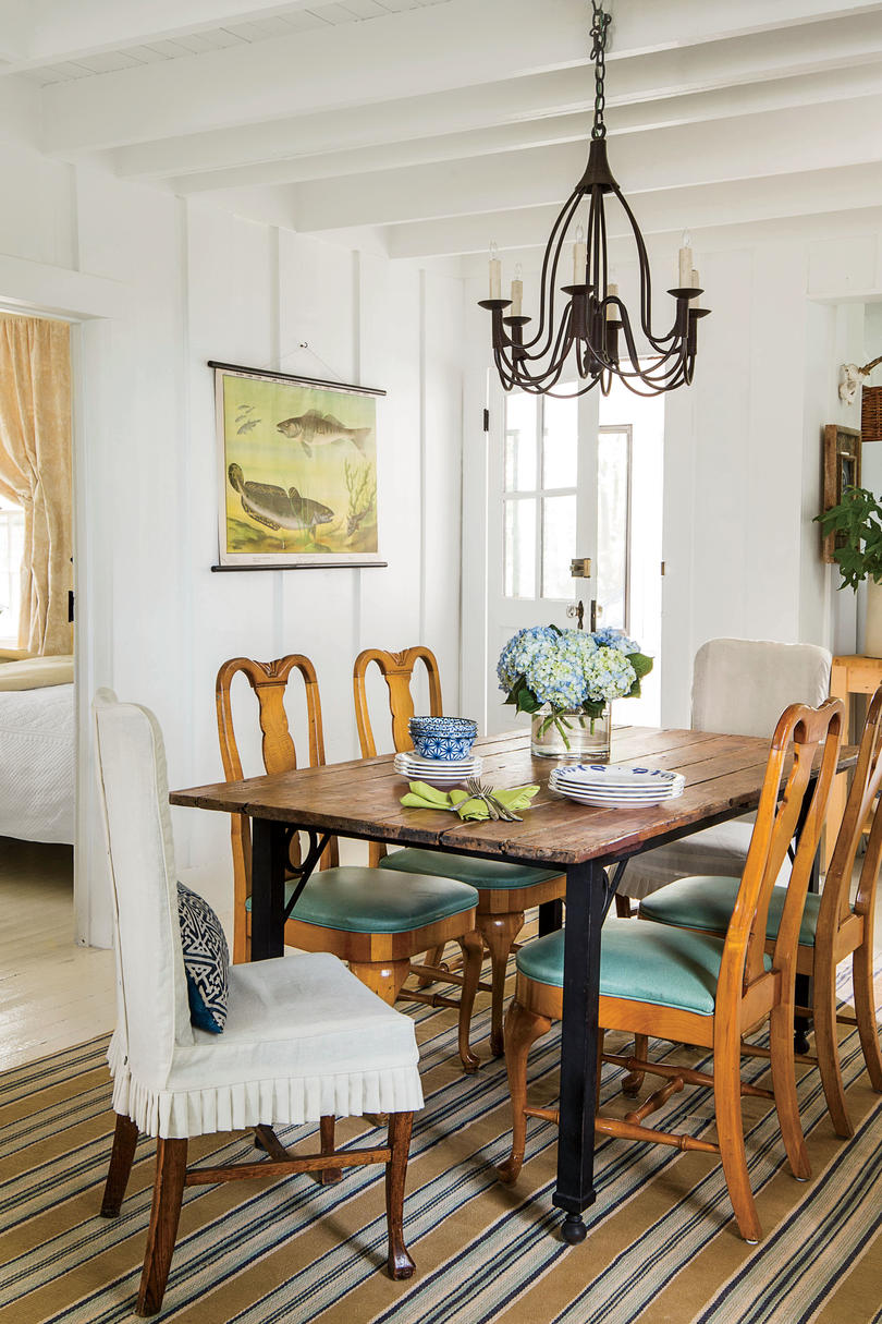 Do White Kitchen Cabinets Turn Yellow Stylish Dining Room Decorating Ideas - Southern Living