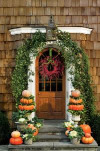 Pumpkin Ideas for Your Front Door - Southern Living