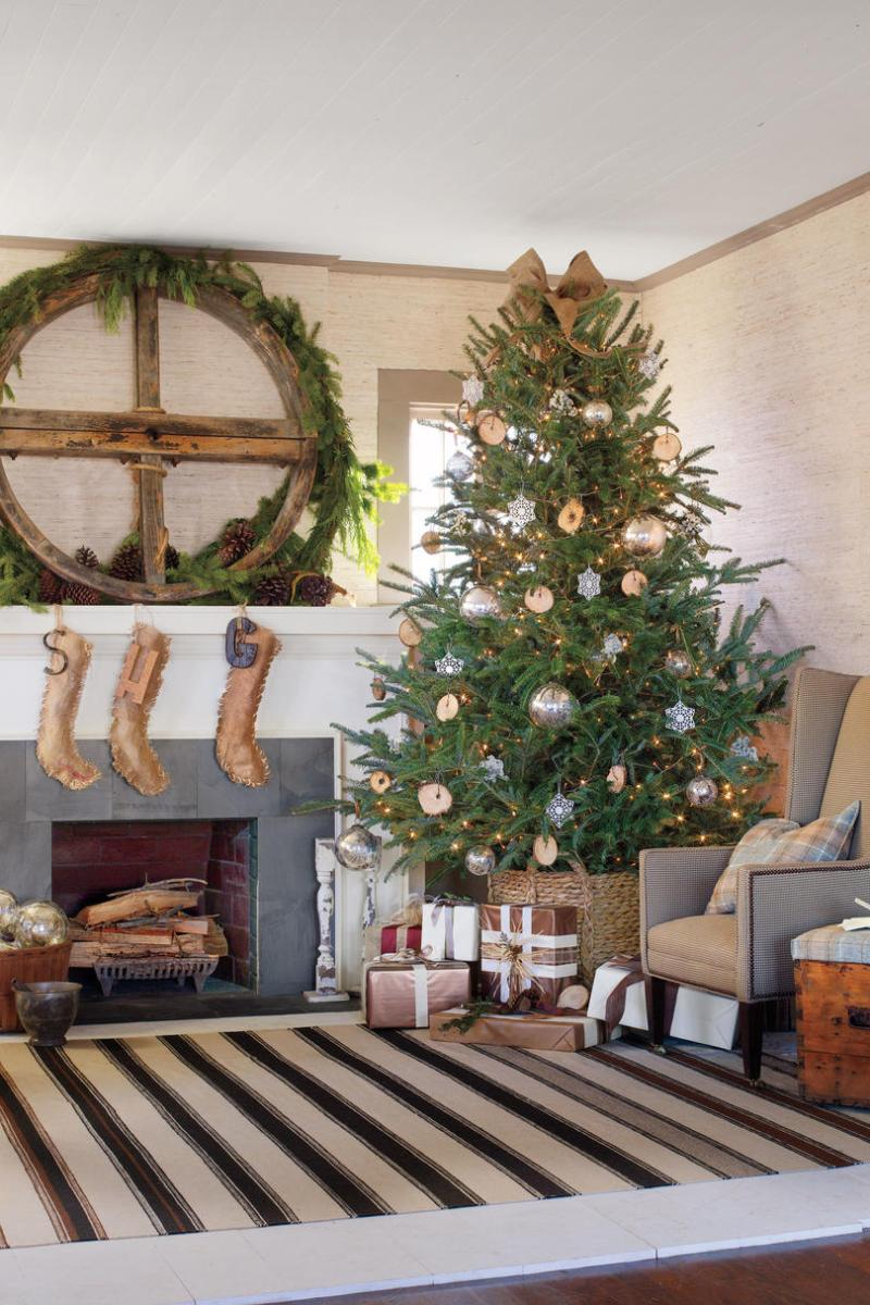 Large Of Rustic Christmas Decor