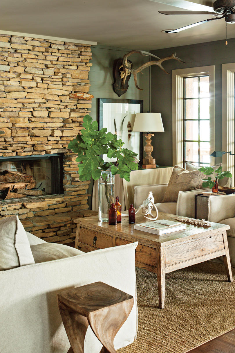 How To Decorate A Brick Fireplace Dress Your Mantel For Winter