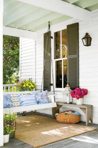 Peaceful Porch Swings - Southern Living