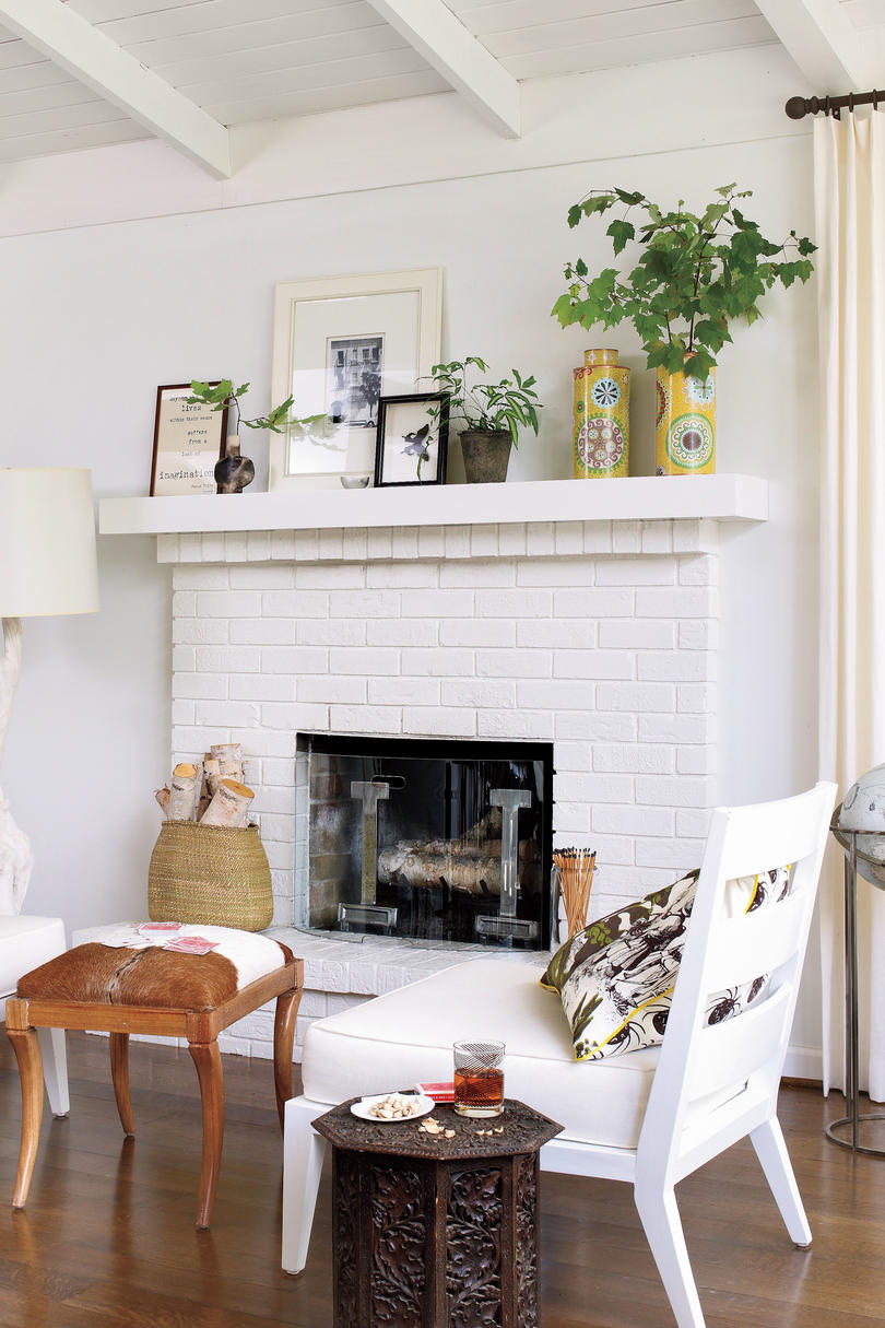 How To Decorate Fireplace Dress Your Mantel For Winter