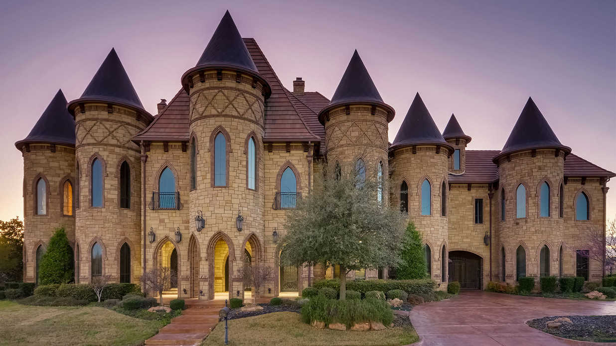 /home Famous Castle Inspired Home Headed To Auction In Texas