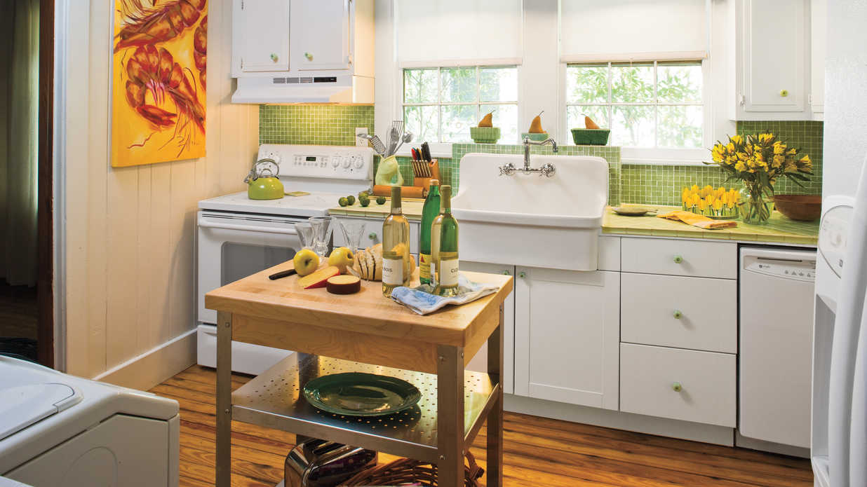 Yellow Kitchen Design Ideas Stylish Vintage Kitchen Ideas