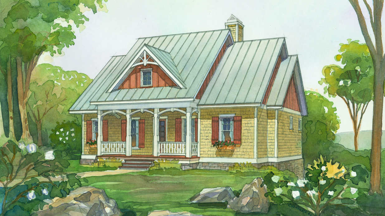18 Small House Plans - Southern Living
