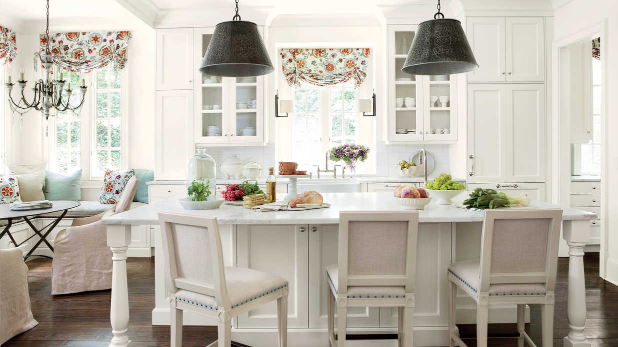 White Home The Best White Paint For Your Kitchen Southern Living