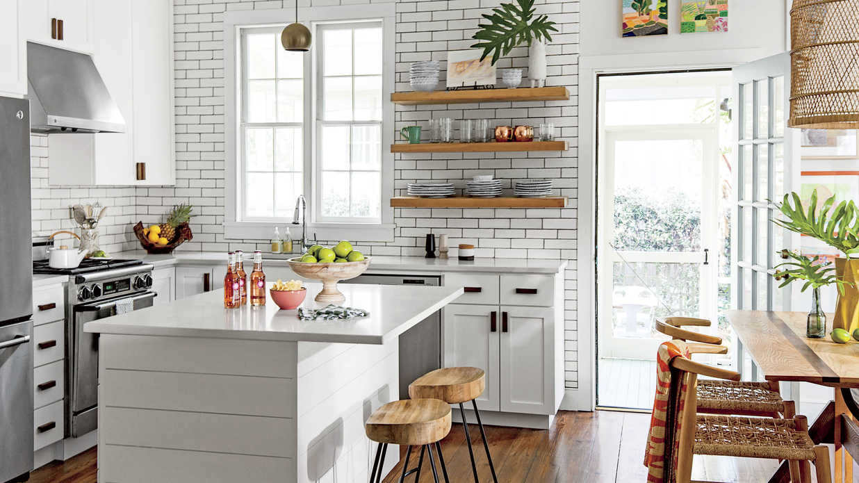 Kitchen Tile Pictures You Re About To See This Tile Trend In Kitchens Everywhere