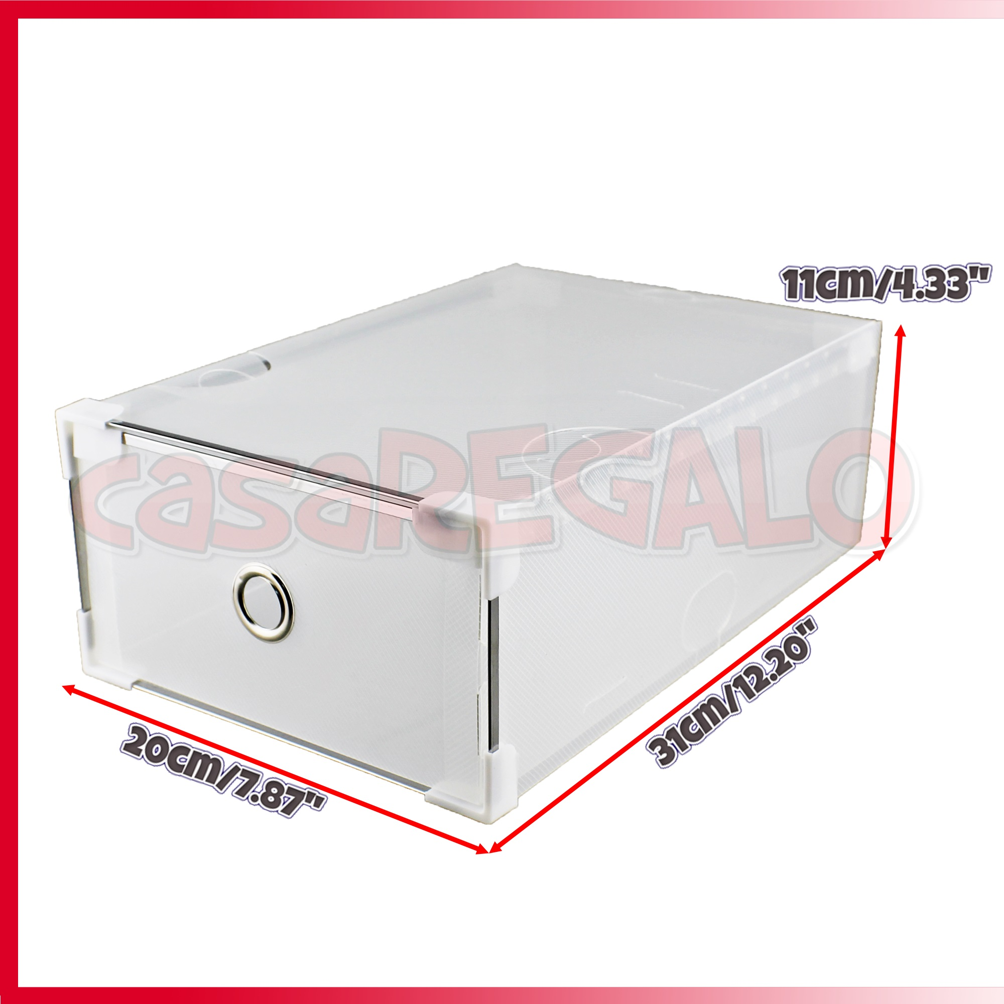Shoe Box Australia 20 X Shoe Boxes Stackable Storage Clear Drawer Foldable