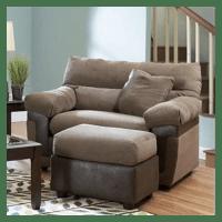 Adrian Big Chair and Ottoman | Wayfair