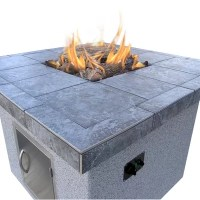 CalFlame Dining Height Gas Fire Pit & Reviews | Wayfair