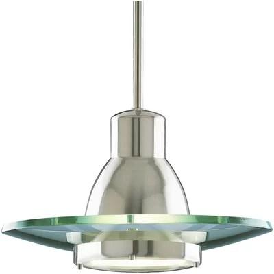 1 Light Contemporary Mini Pendant