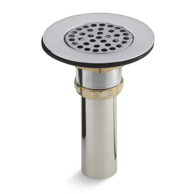 Brass Sink Strainer With Tailpiece For 3 1 2quot To 4quot Outlet
