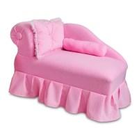 Fantasy Furniture Kid's Princess Chaise & Reviews | Wayfair