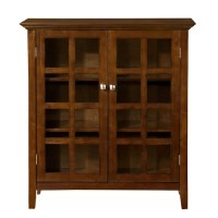 Simpli Home Acadian Accent Storage Cabinet & Reviews | Wayfair