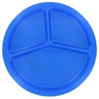 "B&R Plastics 10.5"" Divided Picnic Plate & Reviews | Wayfair"