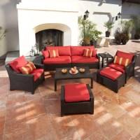 Plush Chair Patio Furniture