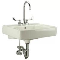 Wall Mounted Bathroom Sink | Wayfair