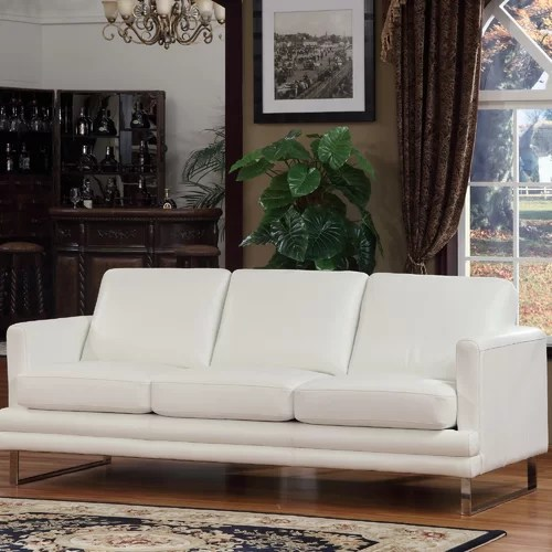 Lazzaro Leather Leather Sofa Reviews Wayfair