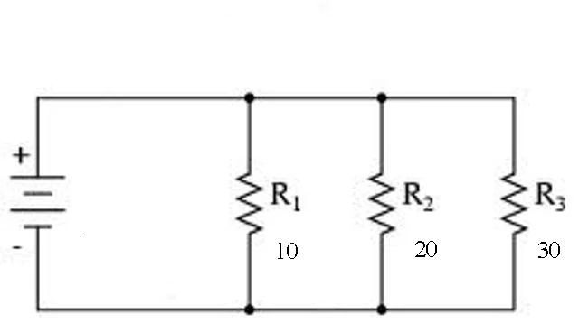 resistance formulas in a parallel circuit the total current equals