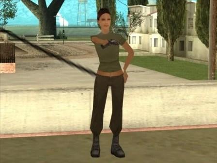 Grand Theft Auto Wallpaper Girl Helena Wankstein Grand Theft Auto Wiki