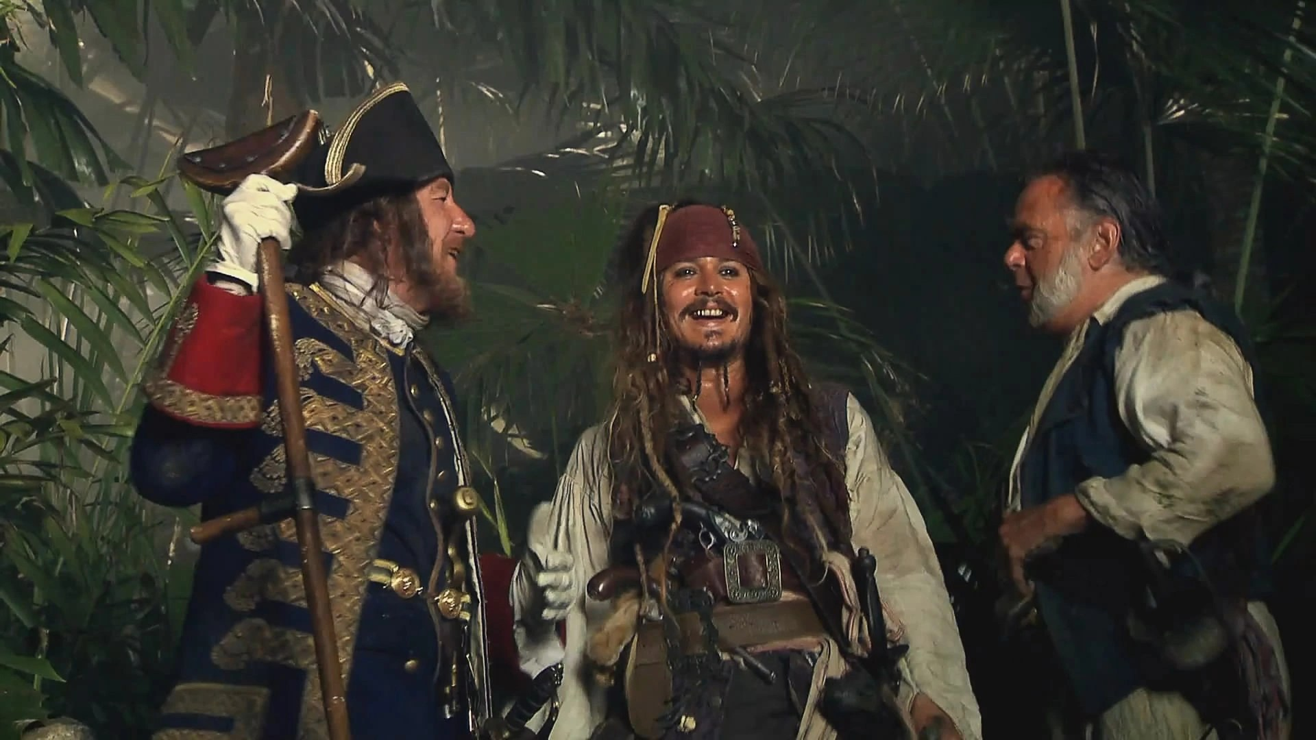List of Pirates of the Caribbean cast members - Pirates of the