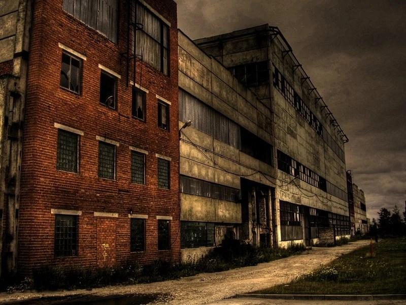 Political Anime Girl Wallpaper Image Old Abandoned Factory By 666girl666 Jpg
