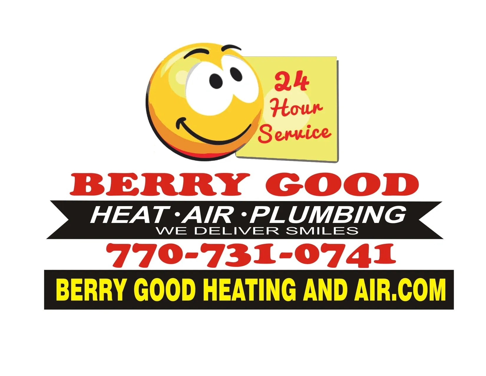 Heat Air Heating Ac And Plumbing Repair Berry Good Heating Air Plumbing