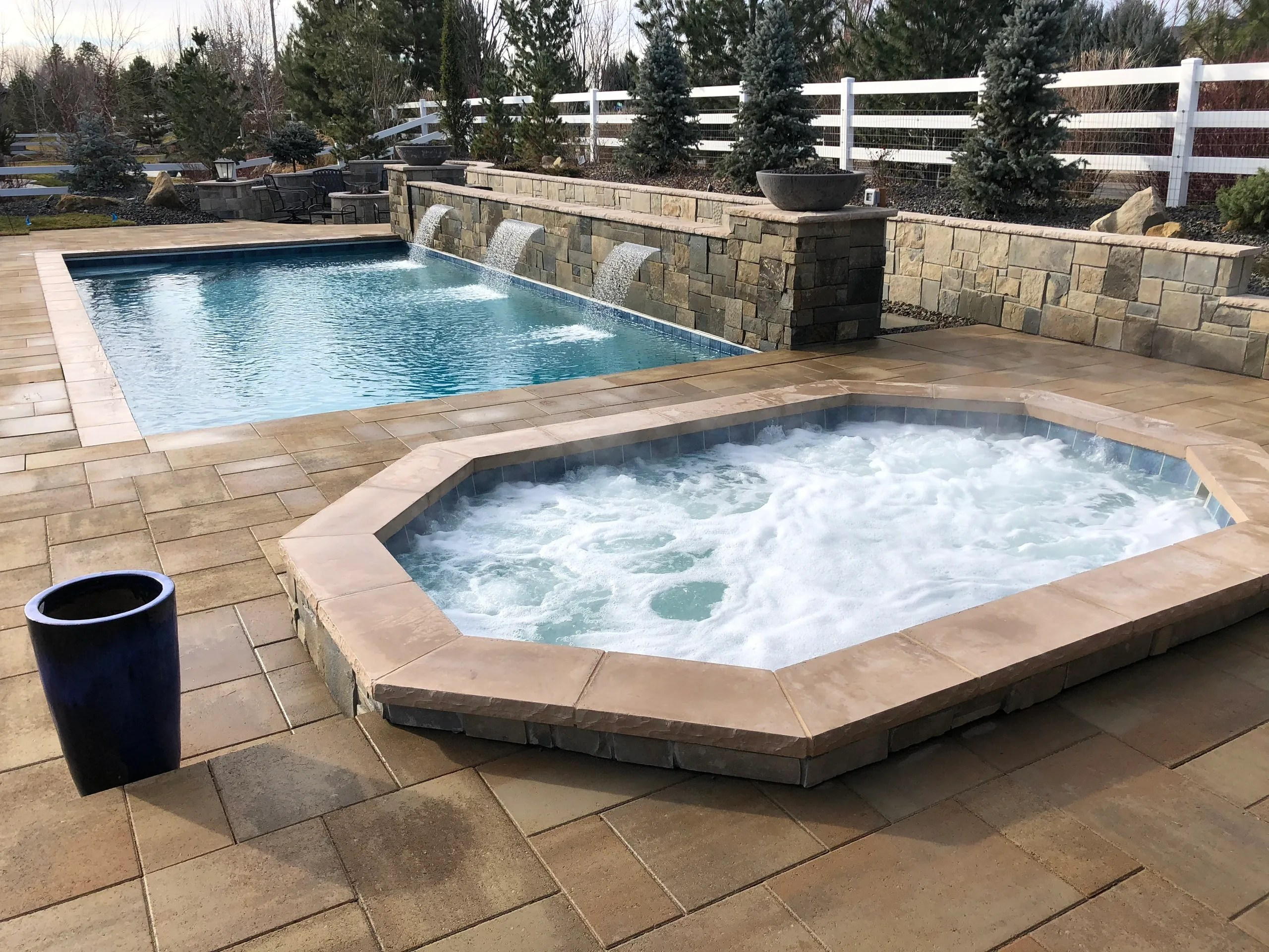 Jacuzzi Pool Service Liquid Fx Pool And Spa Swimming Pool Service Hot Tub