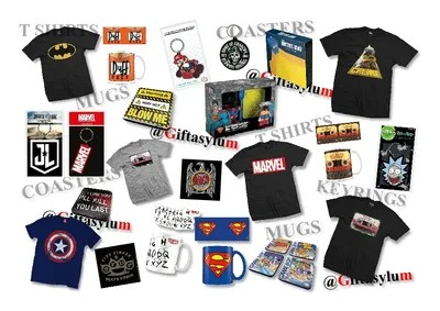 Marvel T Shirts Friends Posters Stranger Things