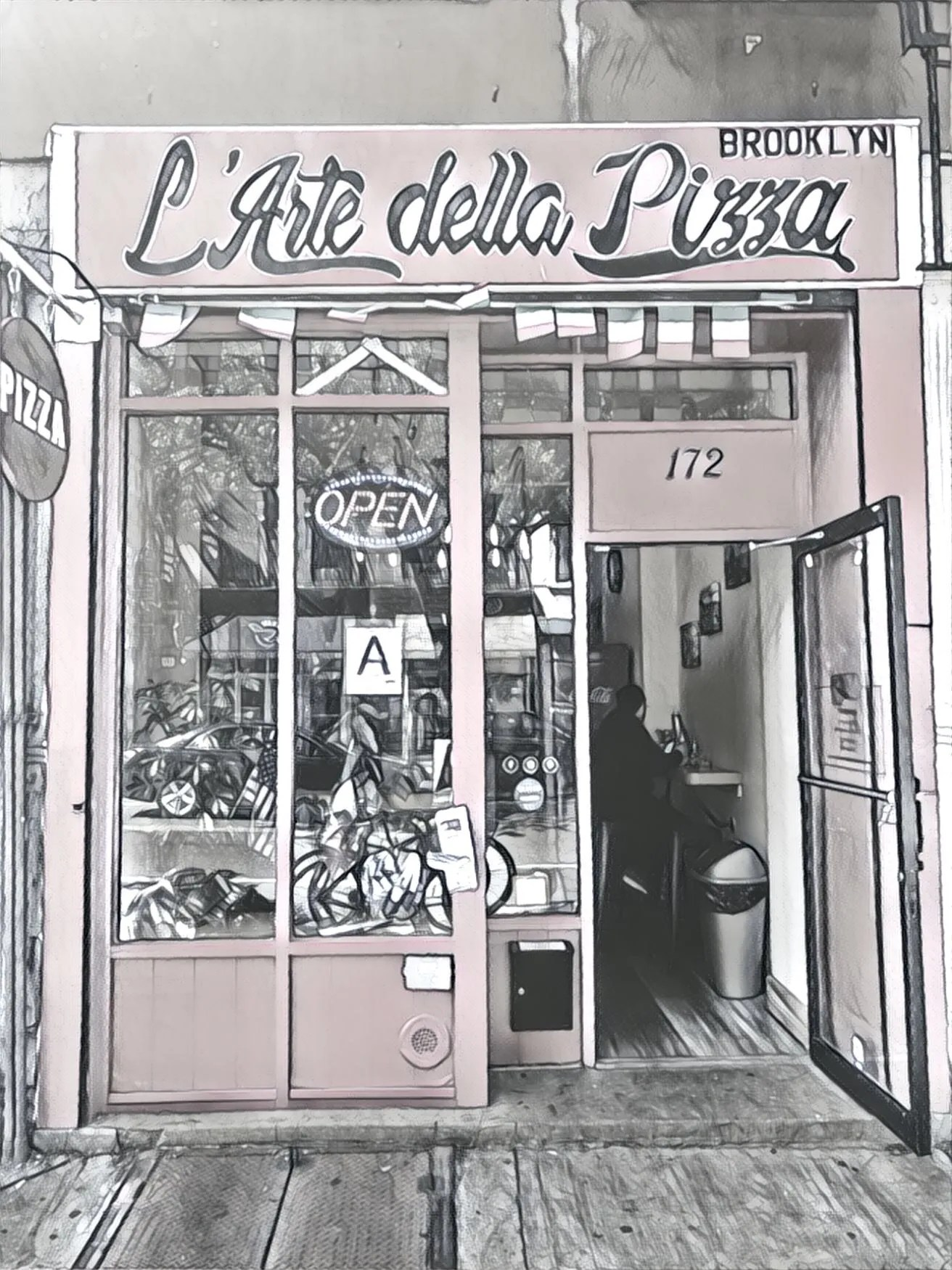 Pizza Arte Open Hours L Arte Della Pizza Brooklyn