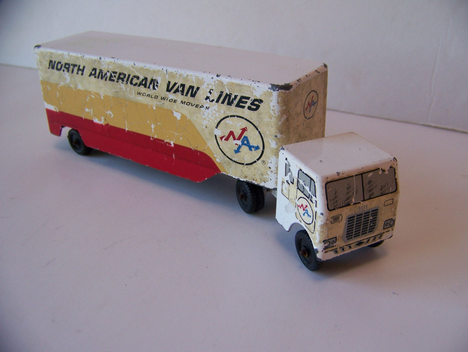 Toy Moving Truck Vintage North American Van Lines Truck Fort Wayne