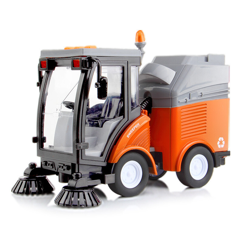 Beans like DODOELEPHANT lifting cranes Sweepers Toy model cars Story