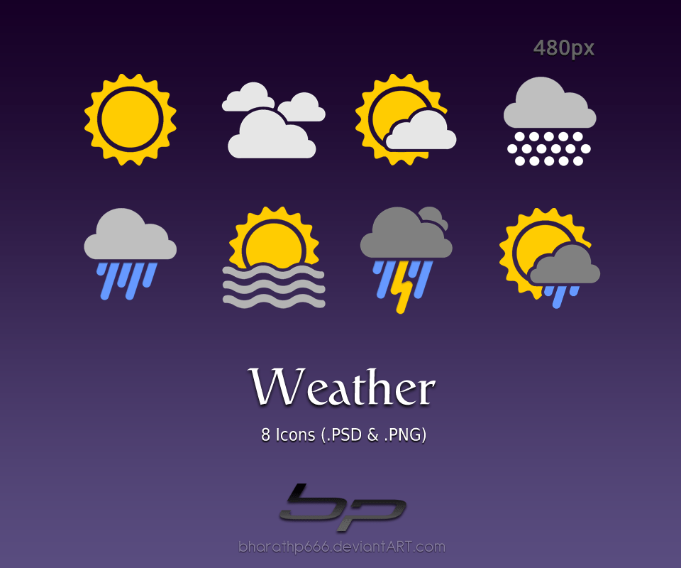 Animated Watch Wallpaper For Mobile Android Weather Icons By Bharathp666 On Deviantart