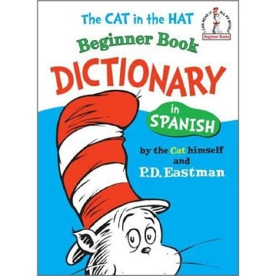 Shop The Cat in the Hat Beginner Book Dictionary in Spanish Online