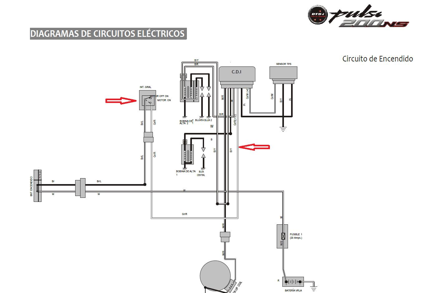 b 17 Diagrama del motor