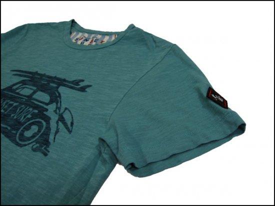 SUNSET SURF/サンセットサーフ S/S Tシャツ「サンセットバンクシー ...